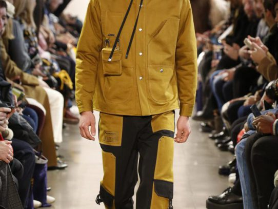 Crafted With Cutting-Edge Material Outerwear Takes On A New Role
